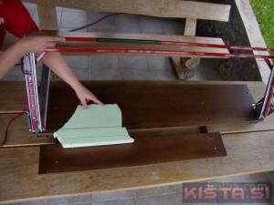 Rezalnik stiroporja in stirodurja 300W
