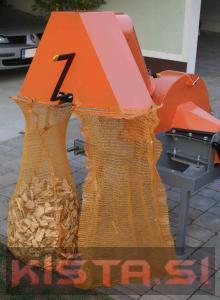 Sekalnik vej lesa, drobilec, mlin za sekance sekalec