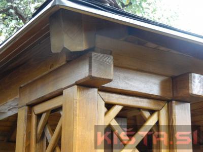 Lesen paviljon-nadstrešek