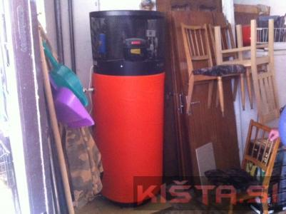 Toplotna črpalka gorenje- za sanitarno vodo