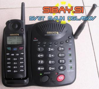 Senao SN 358 Skype - Long Range Cordless Phone Reaches 15 km