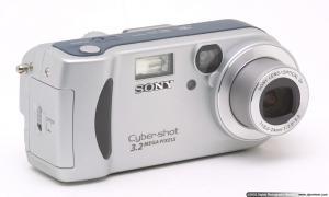 Fotoaparat Sony Cyber-shot DSC-P71-rabljen