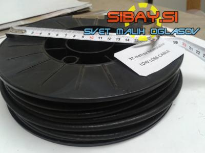 Profesionalni koaksialni kabel H-155 PE / 50Ω LOW-LOSS-CABLE