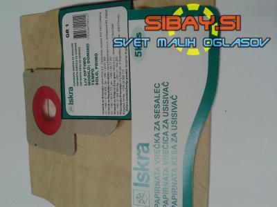 Vrečke za sesalcec ISKRA GR1.