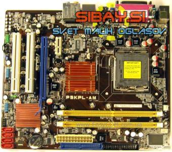 Asus P5KPL-AM (QUAD,S775)+io shield