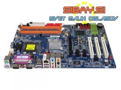 Gigabyte Ga 81915pl-g(S775)+io shield