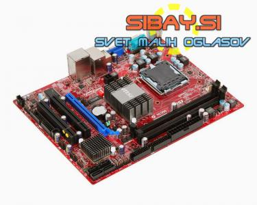 MSI g31tm-p21(QUAD,S775)+CPU C2D E8400+cooler+io shield