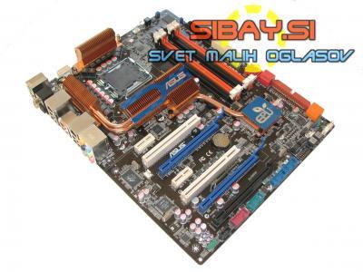 ASUS P5Q3 Deluxe(Quad,Wifi,DDR3)+io shield