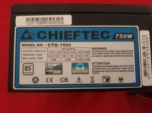750W Chieftec modularen napajalnik