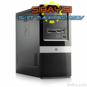 HP DX2400MT:Intel C2D E4600,4GB DDR2,160GB HDD,DVD-rw