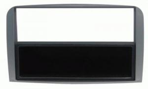 Maska ALFA 147, GT 2-din metalizirana siva