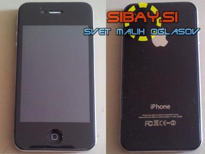 Phone 4GS - kopija (ponaredek) Apple iPhone 4S - manjka baterija