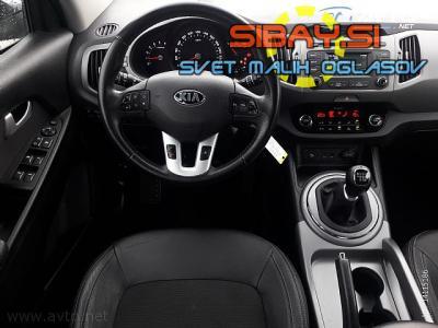 Kia Sportage 2WD 1.7 CRDi USNJE. VZRATNA KAMERA. UGODNO. MENJAVA