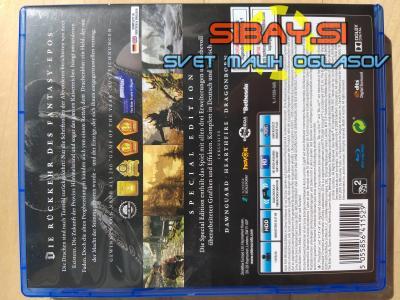 Prodam igro The Elder Scrolls V Skyrim Special Edition PS4