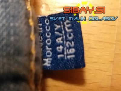 PRODAM kratke hlače Okaidi jeans/kavbojke,št. 162cm