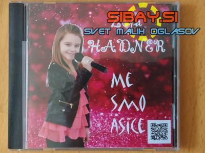 PRODAM NOV cd Zoja Hadner - Me smo asice na cd je 7 pesmi