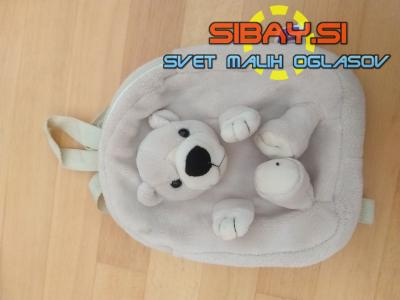PRODAM Otroški nahrbtnik-ruzak medvedek