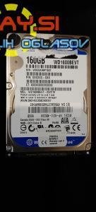 160GB HDD WD Blue Caviar wd1600bevt 2.5