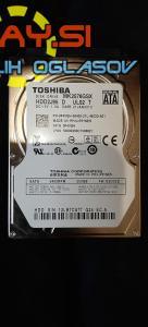 250GB Sata III hdd Toshiba mk2576gsx 2.5 – za prenosnik