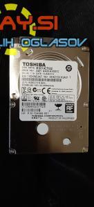 320GB Sata III hdd Toshiba Mq01acf032 2.5 – za prenosnik