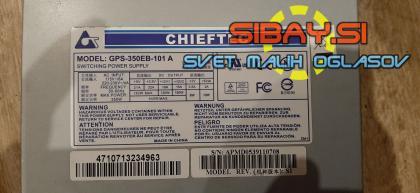340W Chieftec gps-350eb-101a napajalnik