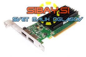 Graf.kartica Nvidia Quadro NVS295,256MB DDR3,2xDP,pcie