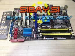 Matična Asus P5QL-PRO+CPU C2D E8400+cooler+8GB DDR2+io shiel