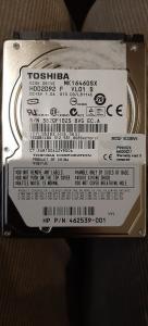 160GB HDD Toshiba mk1646gsx 2.5