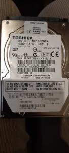 160GB HDD Toshiba mk1652gsx 2.5