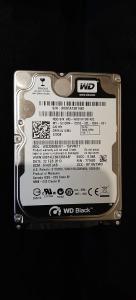 320GB Sata III hdd WD Black WD3200bekt 2.5 – za prenosnik