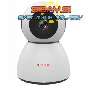 CP PLUS CP-E23 2.0 Mpix vrtljiva IP kamera z Wi-Fi in IR