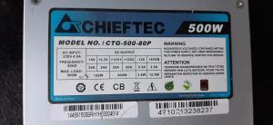 500w Chieftec napajalnik 80plus