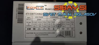 420W LC Power LC420H-12 napajalnik