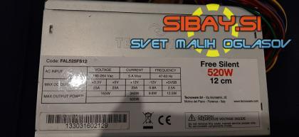 520W TechnoWare napajalnik