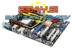 Matična Asus M2N-e Sock.AM2+CPU+cooler+ram+io shield
