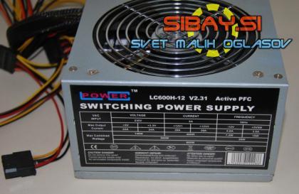 600W LC POWER LC600h-12 v2.31 napajalnik