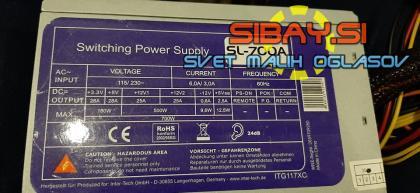 700W napajalnik Inter-Tech SL-700a