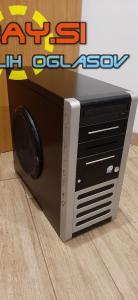 Intel C2D E8200/4GB DDR2/500GB HDD/GF 512MB,WIN7