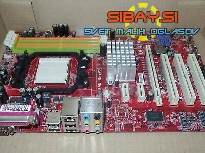 Matična MSI K9N NeoV2+CPU AMD X2 5000+