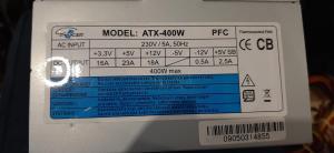 400W Eurocase napajalnik