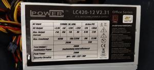 420W LC power LC420-12 v2.31 80 plus bronze