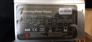 500W napajalnik Intertech sl500g