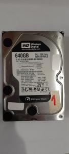 640GB hdd WD6401AALS,Black Caviar,32MB cache