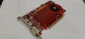 Ati Radeon HD3650,512MB,2xDisplay port,1xdvi,128bitna