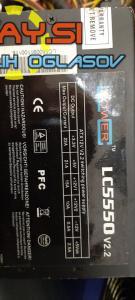 550W LC Power LC5550 V2.2 napajalnik