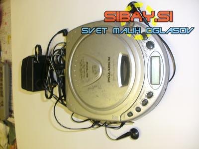 PANADIUM prenosni digitalni CD + FM radio.